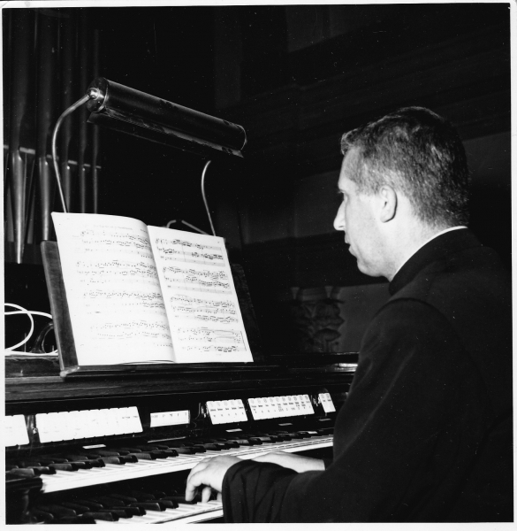 Don Lanini at the Organ 1963