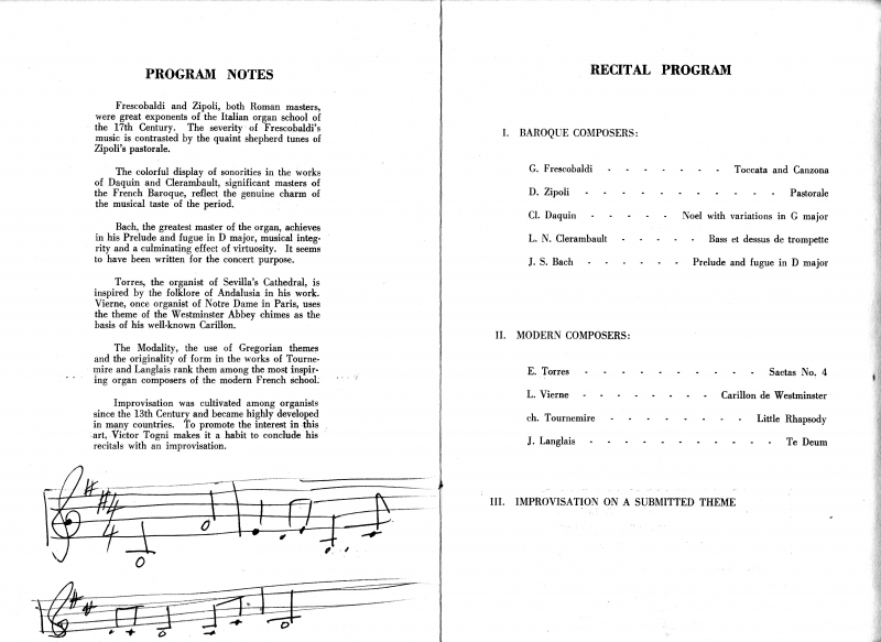 Improvisation Theme Programme
