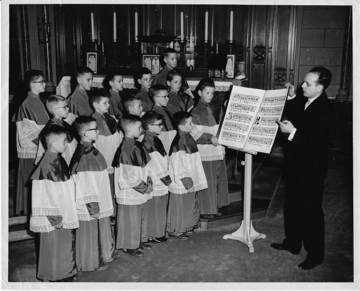 Victor Music Book Choir